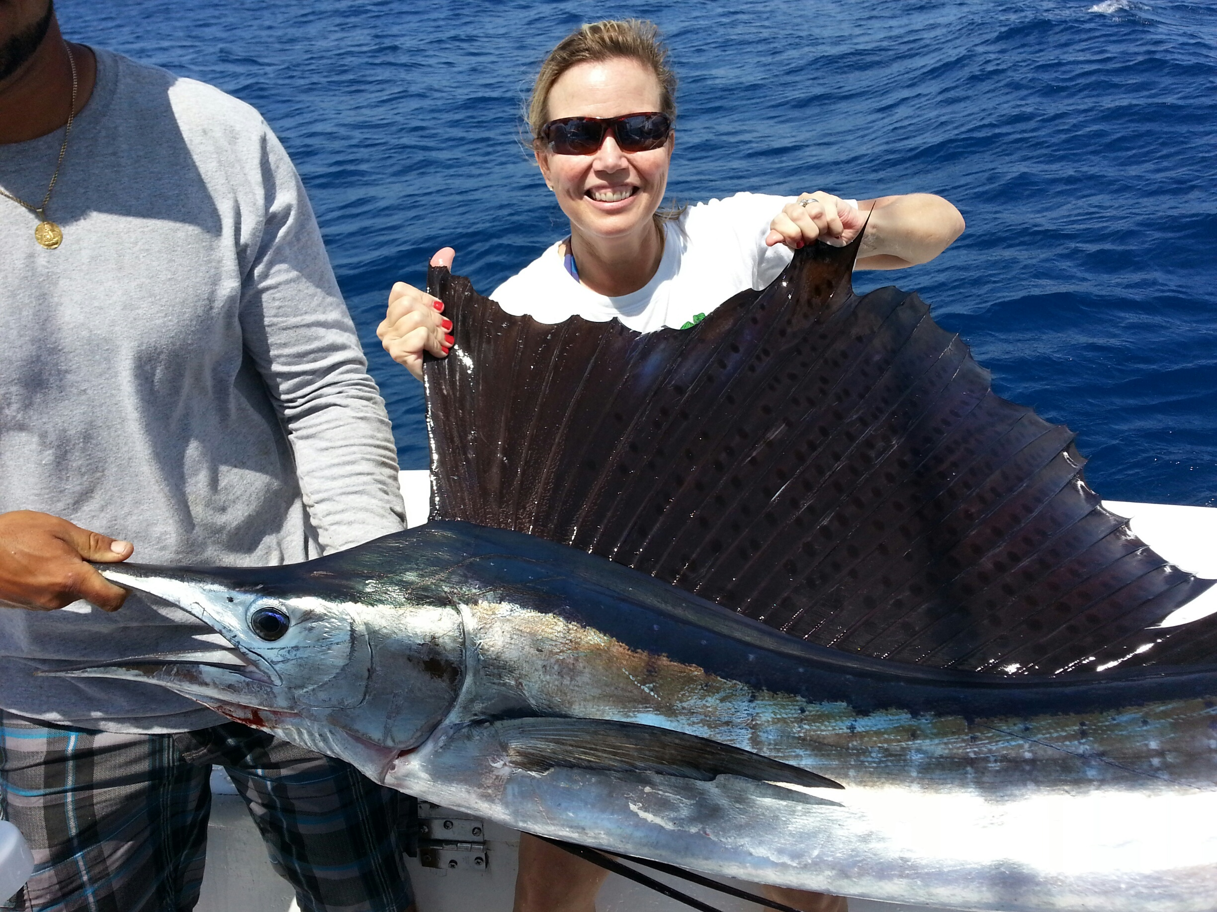 Sailfish and wahoo biting on ft lauderdale sportfishing for Fort lauderdale fishing