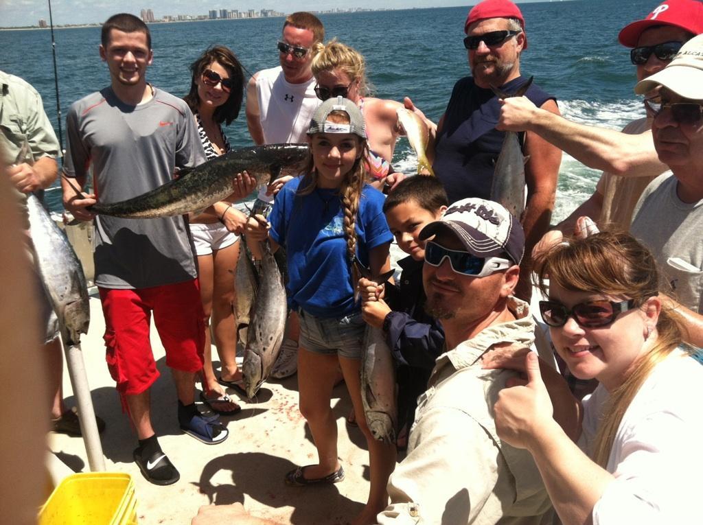 drift fishing trip