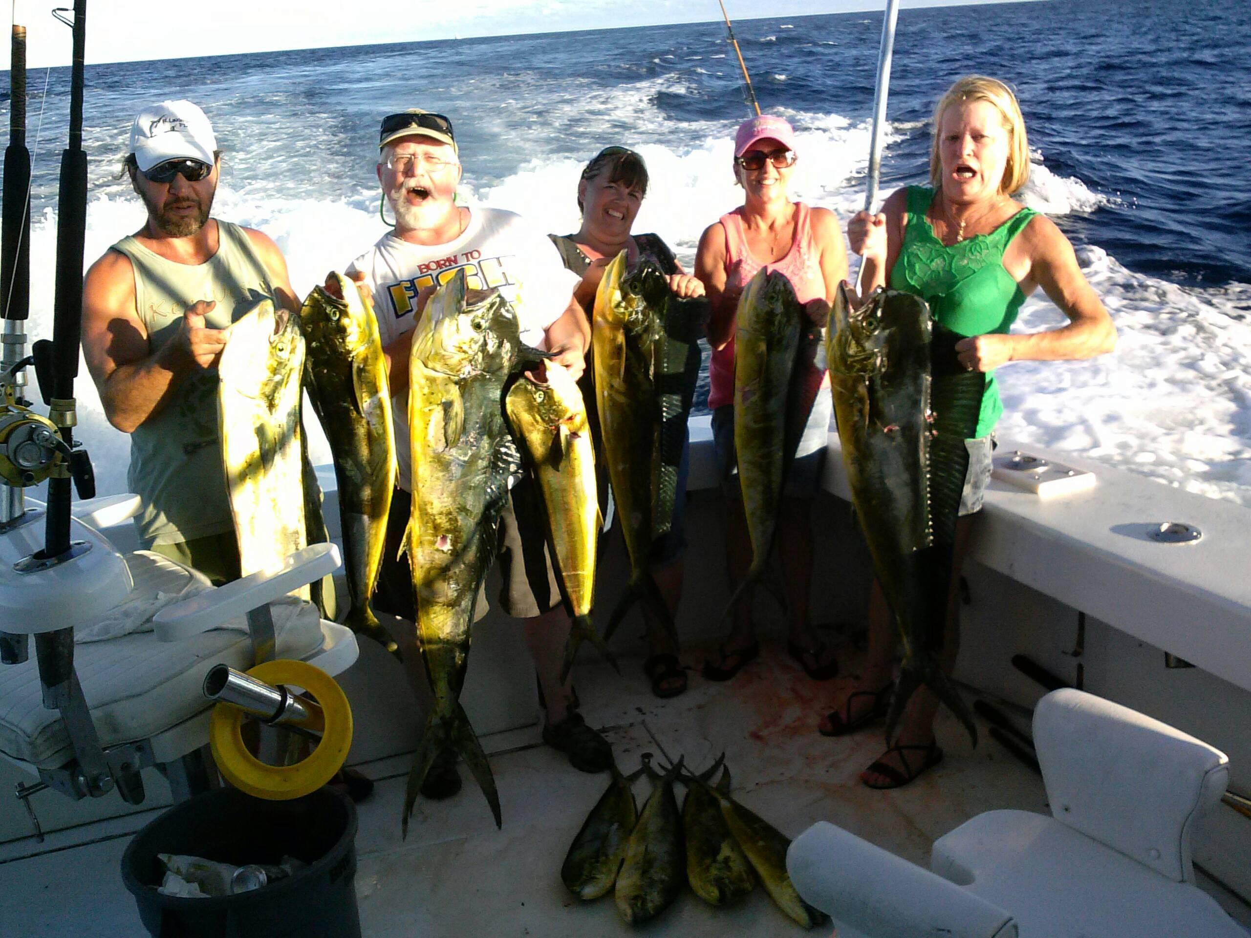 Great afternoon dolphin fishing in fort lauderdale for Fort lauderdale fishing