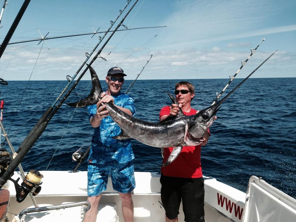 Capt Rod with a swordfish