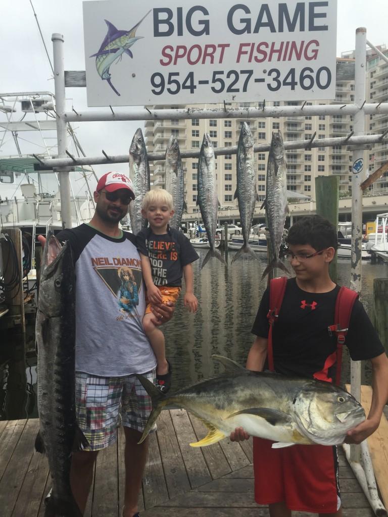 Nice inshore fishing catch