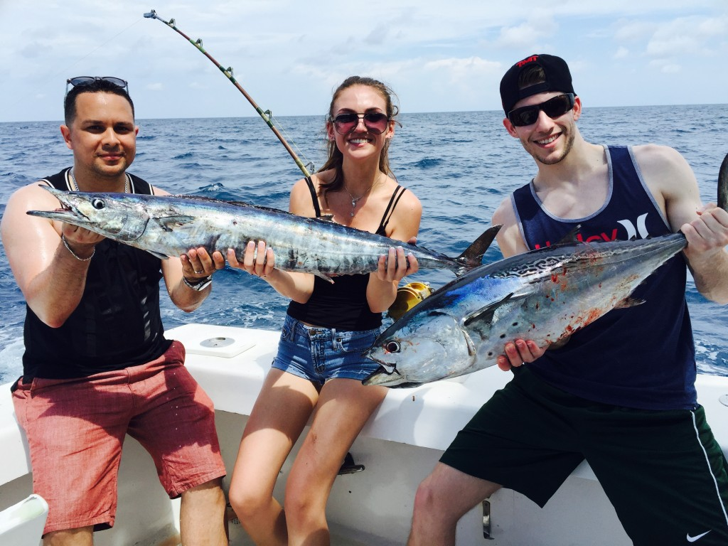 Good action on the reef.  Wahoo and bonito.