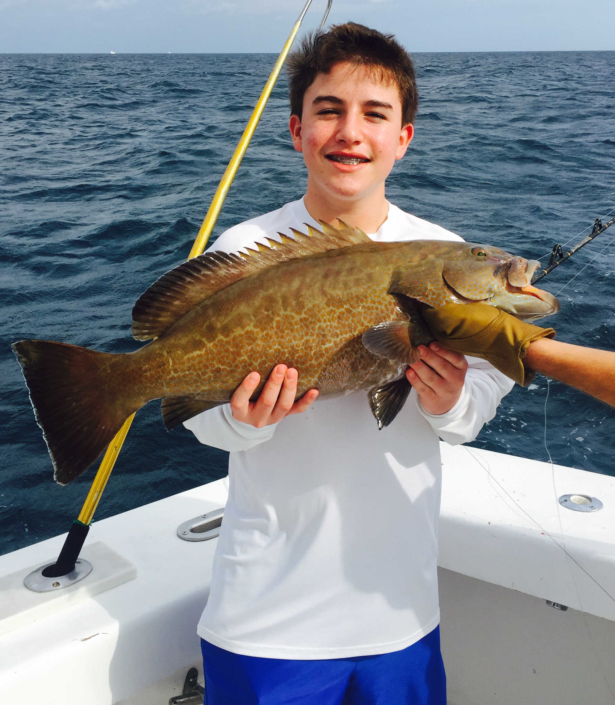 January fishing action in fort lauderdale fishing for Fort lauderdale fishing
