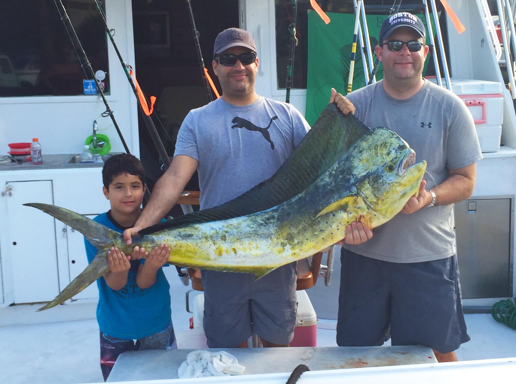 Florida fishing report deep sea fishing in fort lauderdale for Big fishing net
