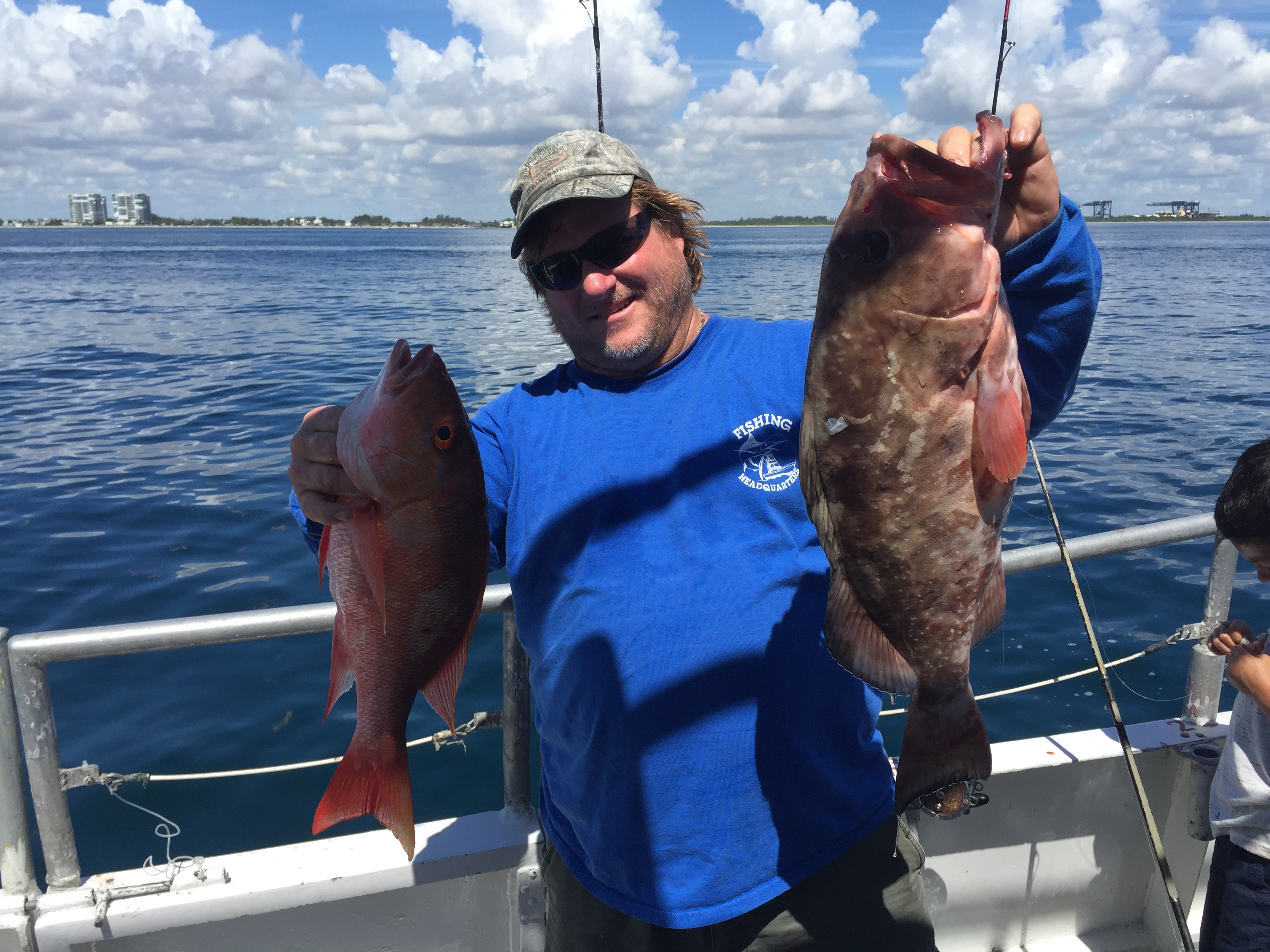 Mixed bag of fish on our sport and drift fishing trips for Drift fishing fort lauderdale