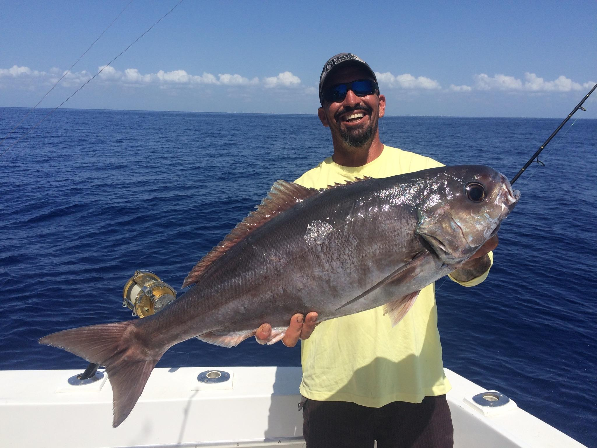 Crazy good deep dropping off ft lauderdale fishing for It s about the cross go fish