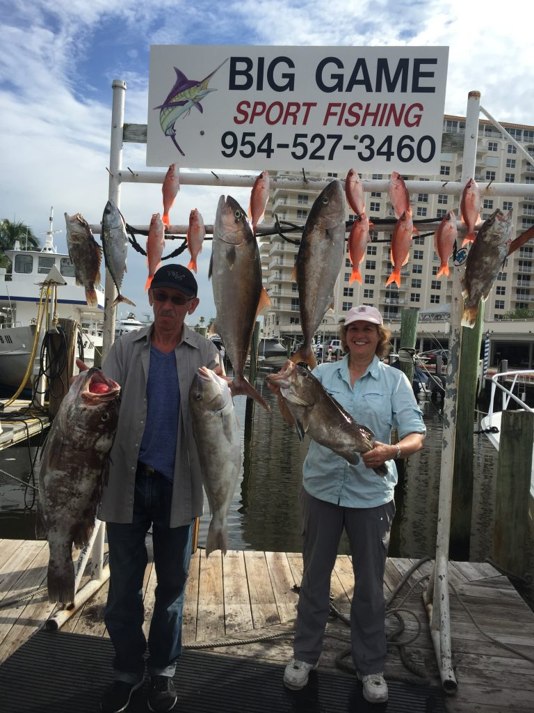 Nice catch by these 2 on our All Day fishing trip