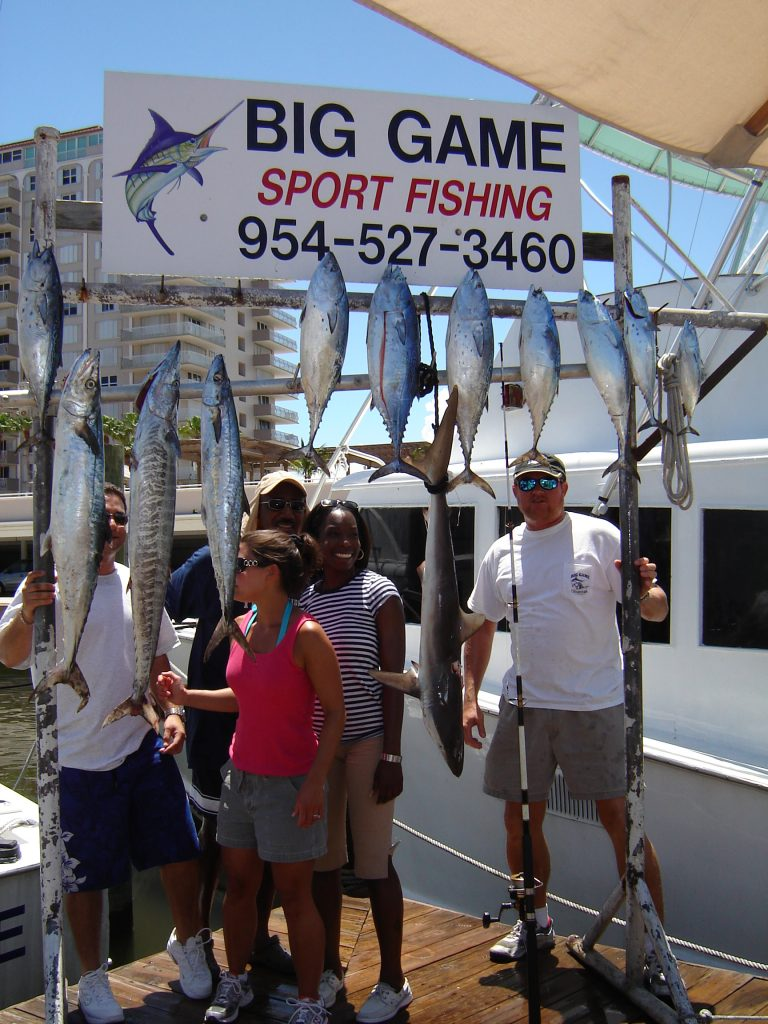 This family just did our private deep sea fishing charter in Ft Lauderdale.