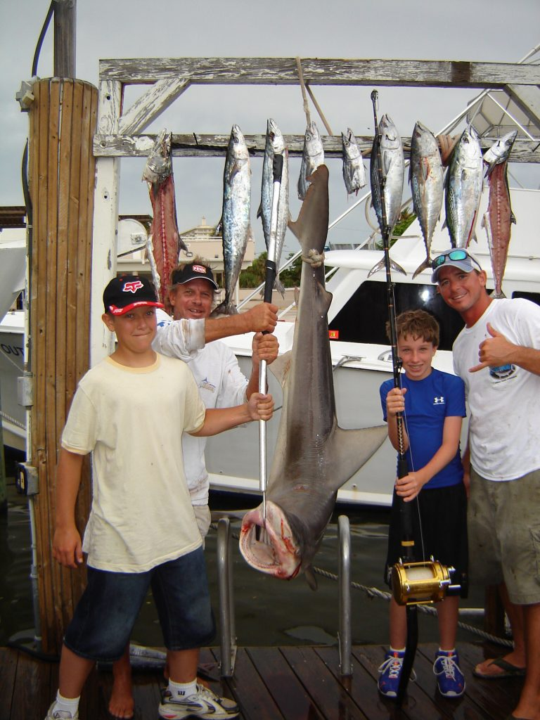 This family had a great fishing experience in Fort Lauderdale