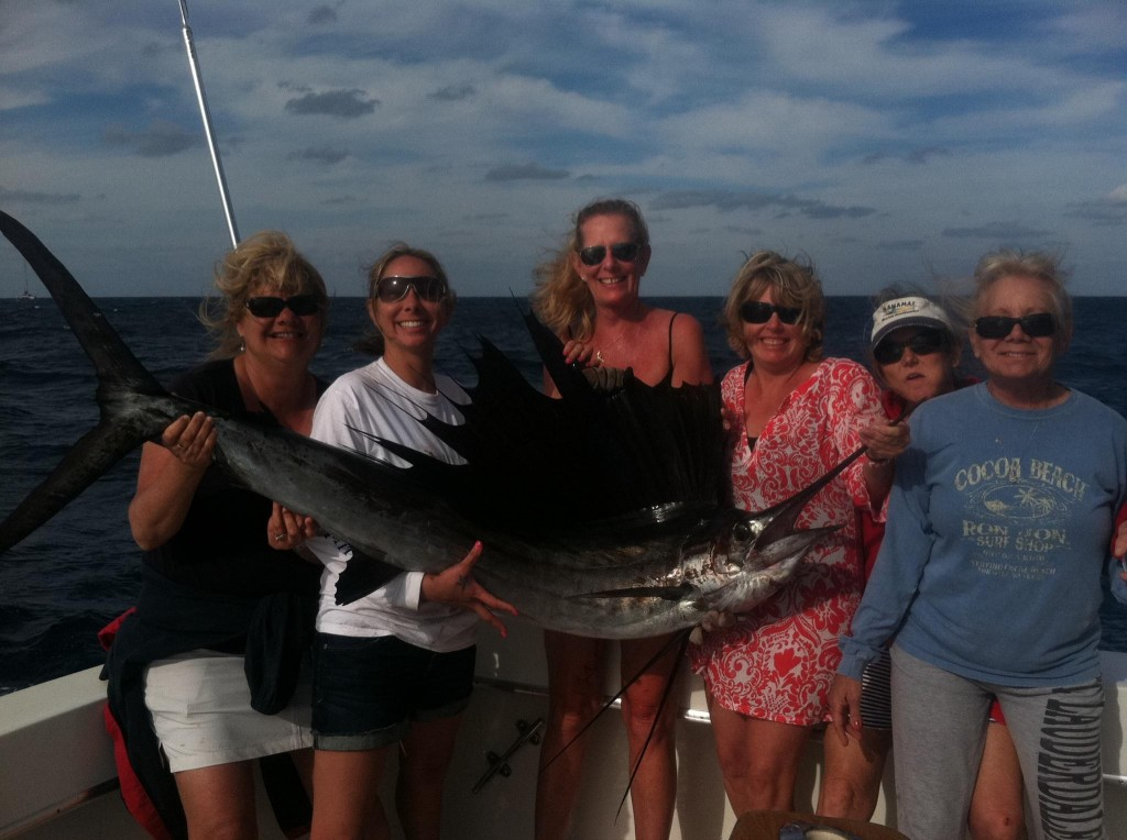 sailfish fishing in Fort Lauderdale