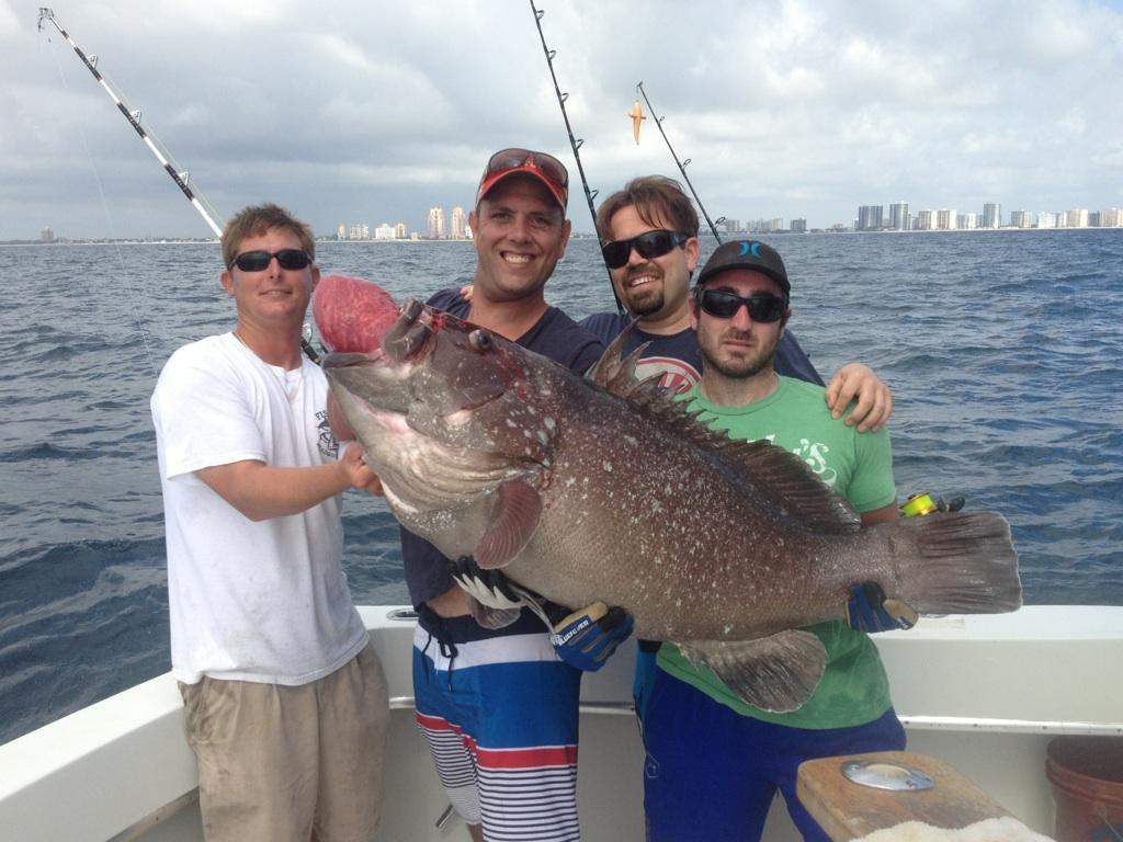 Ft Lauderdale grouper fishing