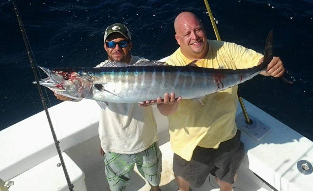 big wahoo caught offshore
