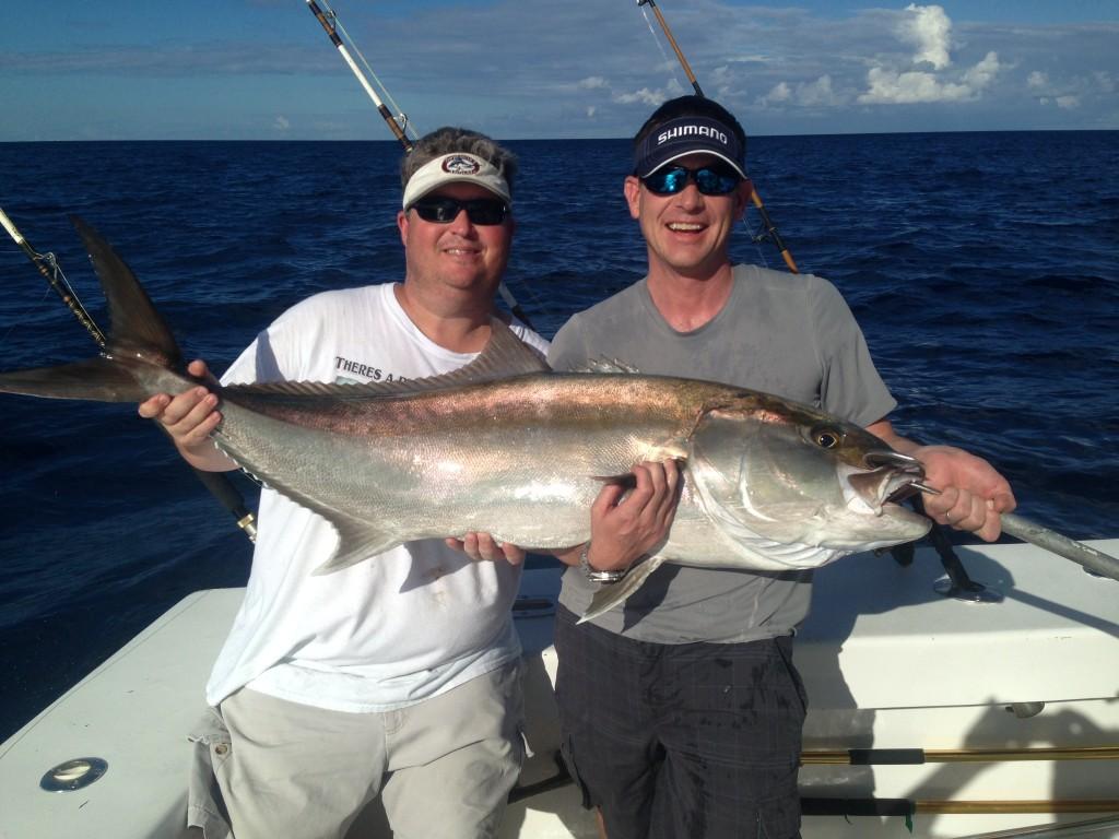 Big amberjack caught in Ft Lauderdale